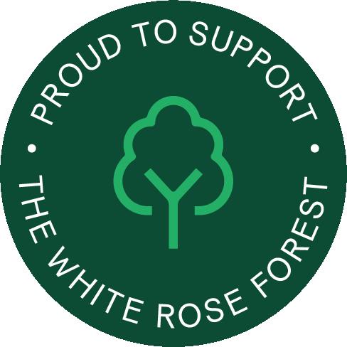 White Rose Forest supporter badge